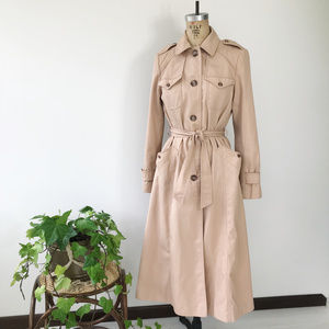 Vintage Utex Belted Trench Coat